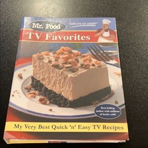 Mr. Food TV Favorites Recipe cookbook